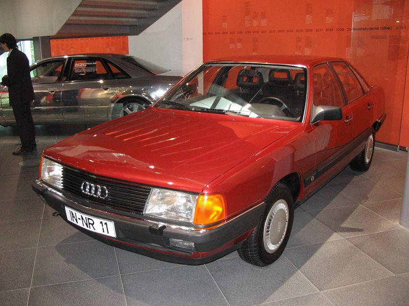 (1983) Audi 100 5E (C3)   Gallery   Veteráni i veterán ...