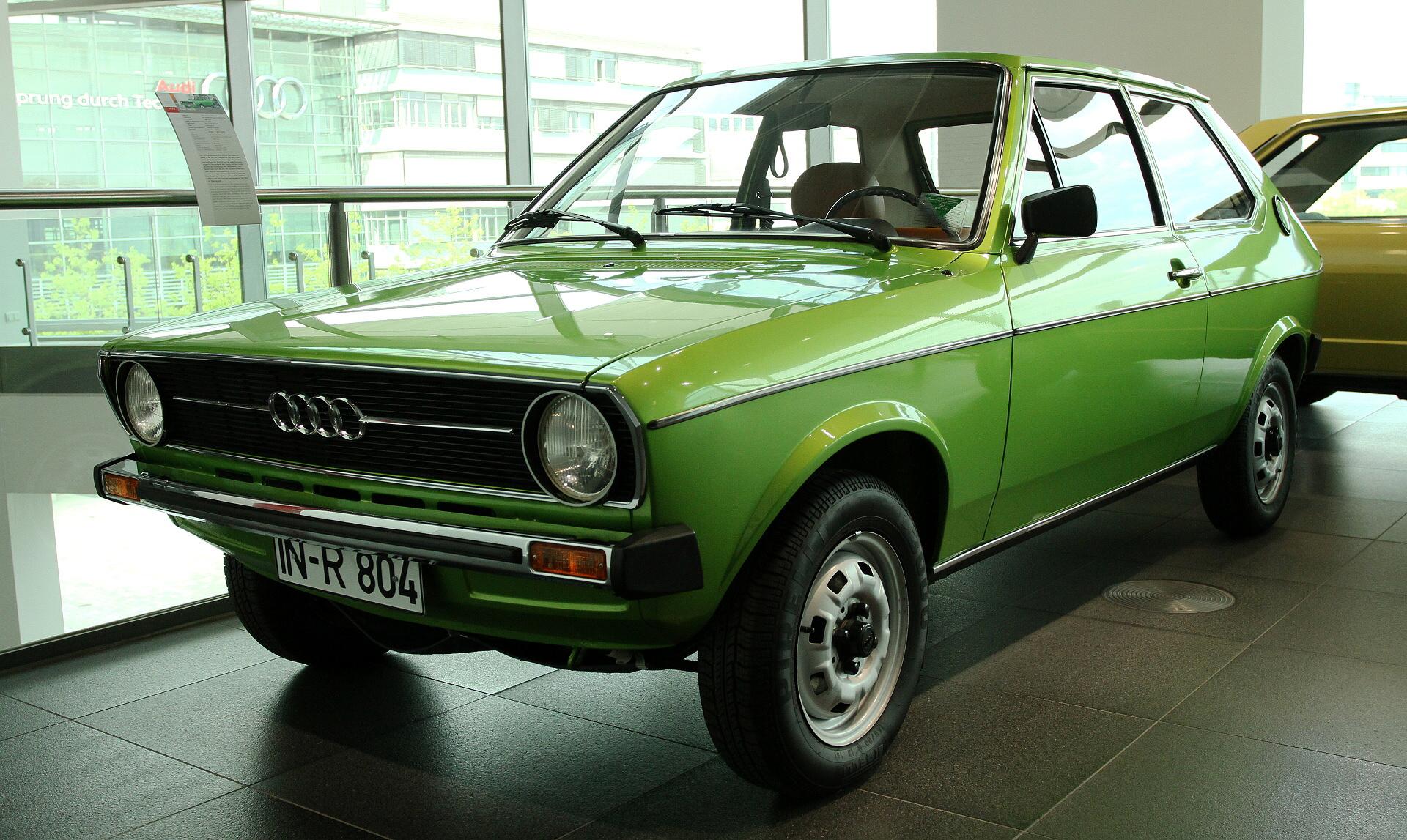 (1977) Audi 50 LS | Galerie | Veteráni i veterán ...