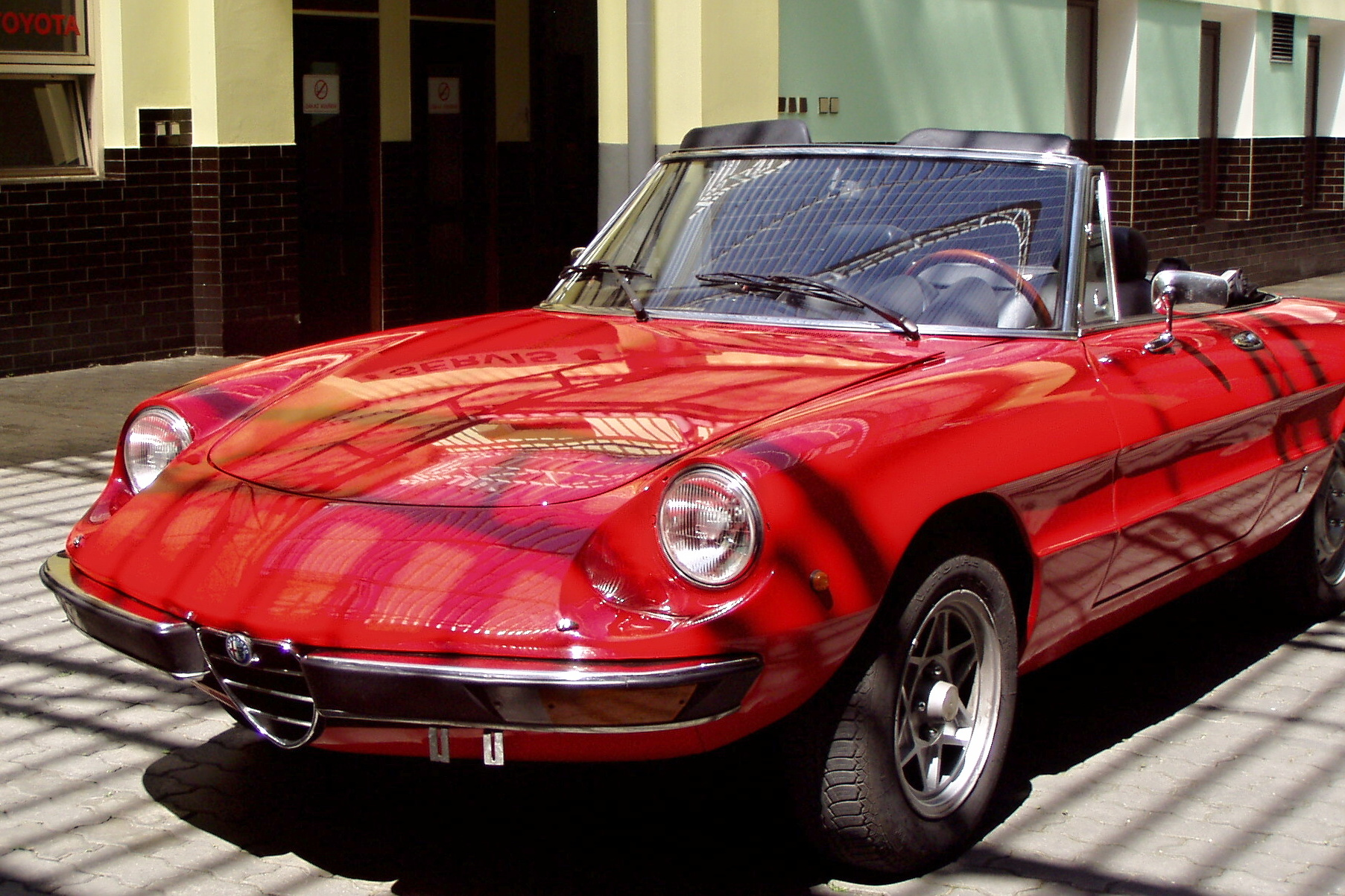 1973 Alfa Romeo Spider Veloce Galerie