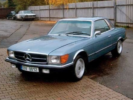 1976 mercedes benz 280 slc gallery veter ni i veter n oldtimers historick vozidla. Black Bedroom Furniture Sets. Home Design Ideas