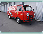 Fiat 850 T Service Bus Abarth Look