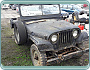 Willys Jeep US army  r.v. 1950