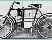 (1899-1900) Laurin & Klement B 1-3-4 HP (240ccm)