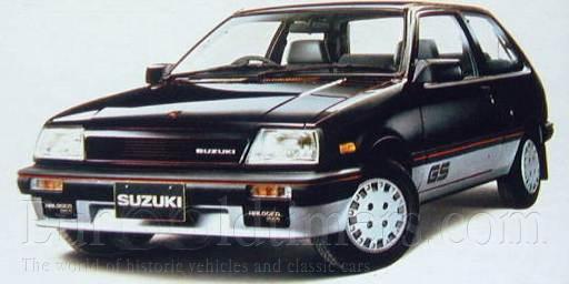 Suzuki Cultus Turbo Displacement