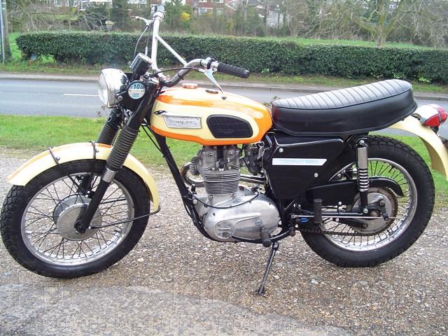 1969  Triumph Tr25w 250 Ccm