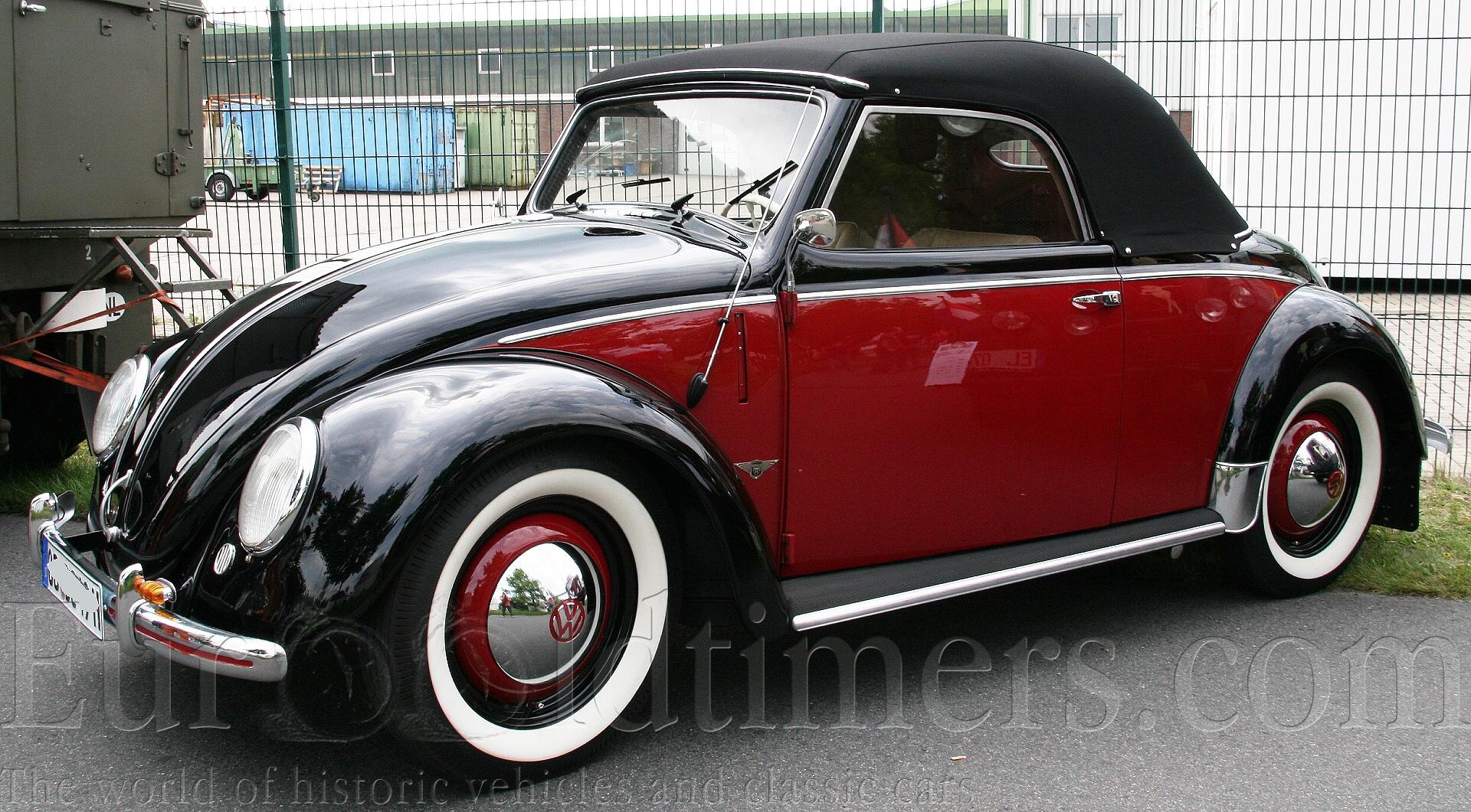 1949 53 Vw Hebm 252 Ller Cabriolet 1131ccm Gallery
