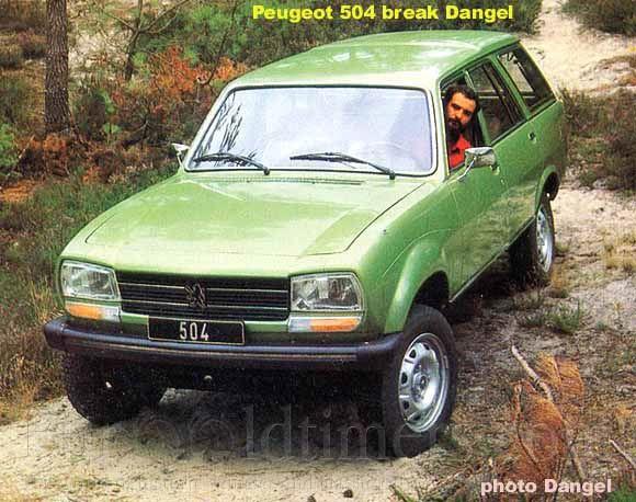 1982 Dangel Peugeot 504 Break 4x4 Gallery Veterani I Veteran