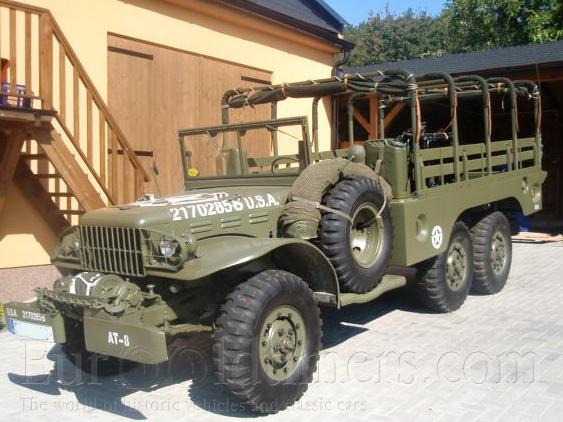 (1942) Dodge T223 – WC 63 | Gallery | Veteráni i veterán ...