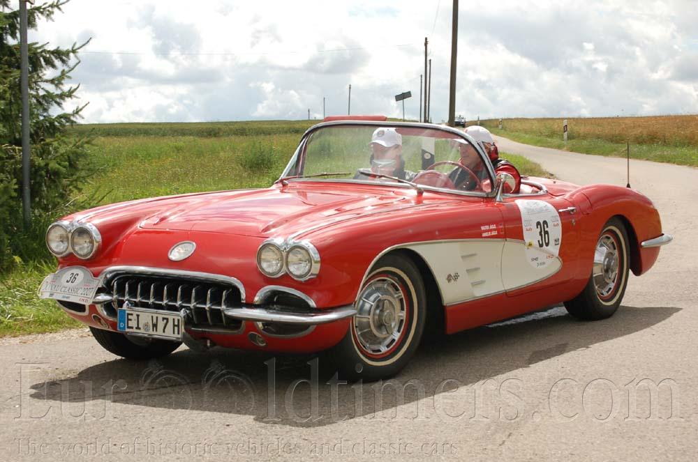 Corvette C1 1953 >> (1953-55) Chevrolet Corvette C1 3859ccm | Gallery | Veteráni i veterán - Oldtimers - Historická ...