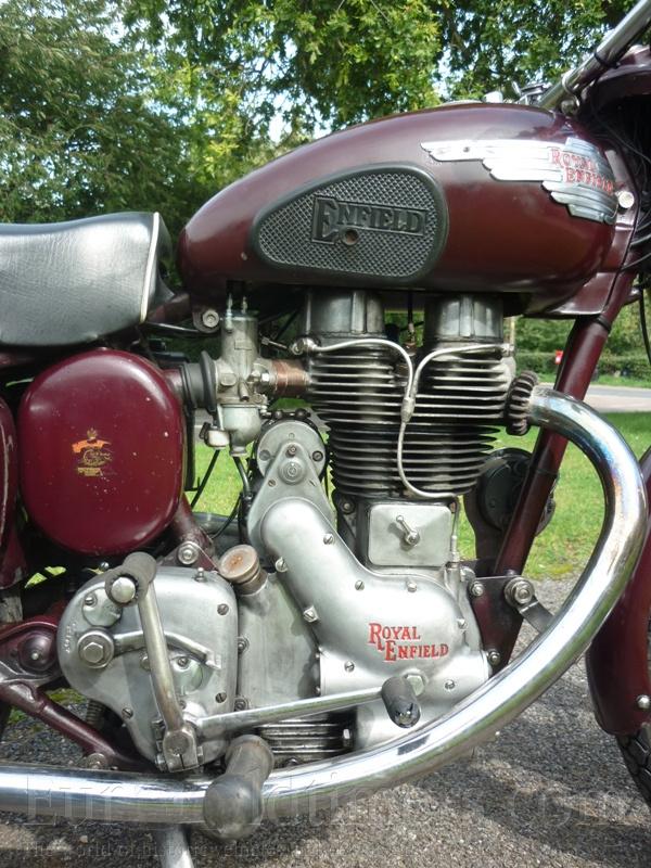 1954 Royal Enfield Bullet 500 Ccm Gallery Veteráni I Veterán
