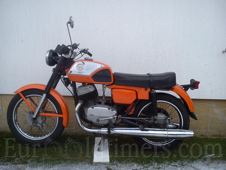 (1976) ČZ 350 ccm typ...