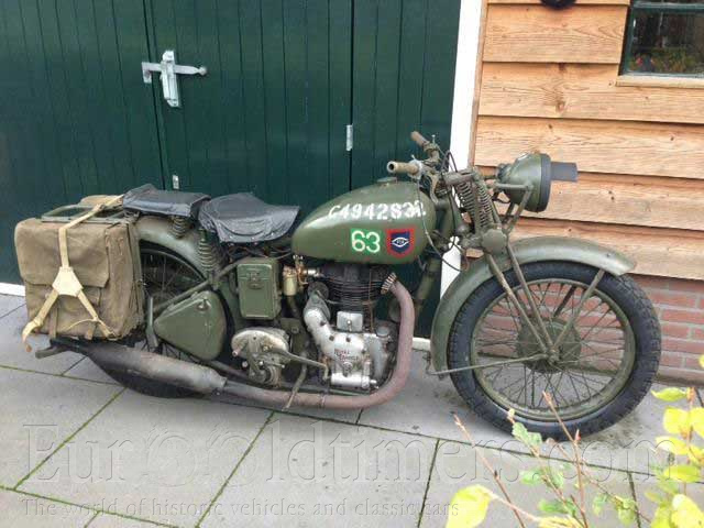 1943  Royal Enfield Wdco 350 Ccm
