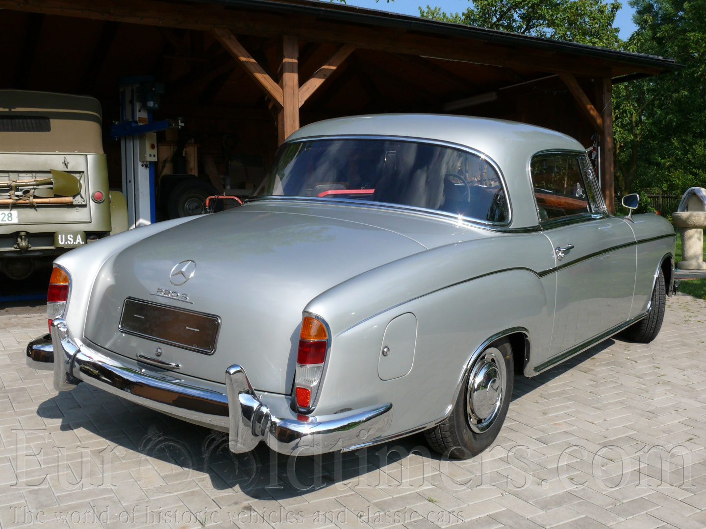 1956 1959 mercedes benz 220 s coupe w 180 ii gallery for 1959 mercedes benz